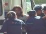 Corte de calles y represión policial