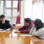 Kosiner se reunió con autoridades de Cafayate