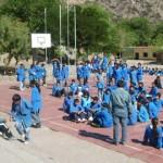 Defensa Civil realizó simulacros en varias escuelas