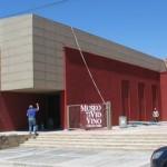 """""""Está casi terminado el Museo de la Vid y el Vino"""""""