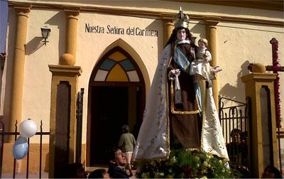 Tolombón, honró a su santa patrona la Virgen del Carmen
