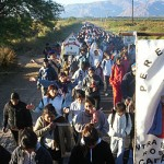 Los peregrinos se preparan para renovar su pacto de fidelidad