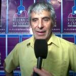 Peteco Carabajal, dejó todo en el escenario