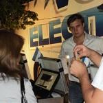 6500 personas practicaron con el voto electrónico