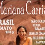 Mariana Carrizo inicia una gira por Brasil