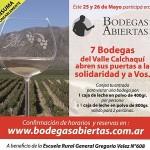 Bodegas Abiertas: Fin de Semana Patrio y solidario