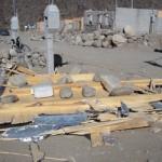 Los módulos habitacionales fueron los más afectados por el viento