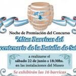 """El 22 se hará la premiación de """"Altas Barricas"""""""