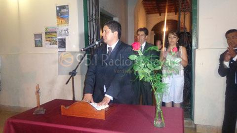 Juramento del Concejal Diego Cruz