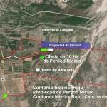 Pernod Ricard quiere entregar tierras en el Río Seco a cambio de las 32 ha
