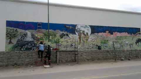 El Mural Nº 11 de Cafayate