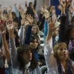 La asamblea docente levantó el paro
