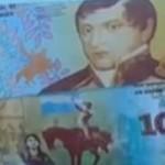 Presentaron el nuevo billete de 10 pesos