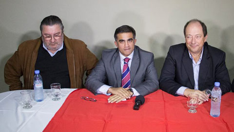 Miguel Nanni asumió como nuevo presidente de la UCR salteña