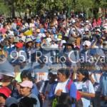 Más de 500 peregrinos de Cafayate renuevan su pacto de Fe