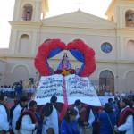 Cafayate celebró con devoción su fiesta patronal