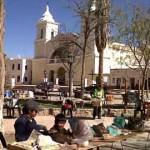 Lanzaron el Primer Encuentro Nacional de Escultores en Algarrobo de los Valles Calchaquíes