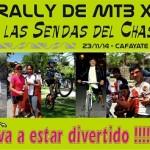 XIº Rally por las sendas del chasqui 2014