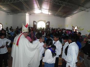 El Obispo Demetrio Jiménez visitó Jasimaná