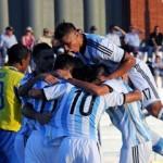 El Sub-20 debutó con el pie derecho y goleó a Ecuador