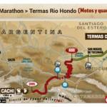 Cortes de rutas y zonas para ver el Rally Dakar 2015