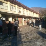 Con algunas demoras ya se vota en Cafayate