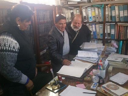 Emilio Haro Galli donó cuadros a escuelas