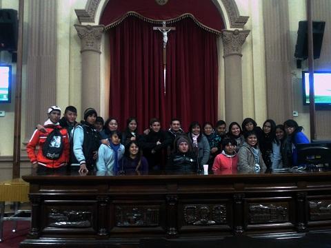 Estudiantes de Cafayate visitaron la Cámara de Diputados