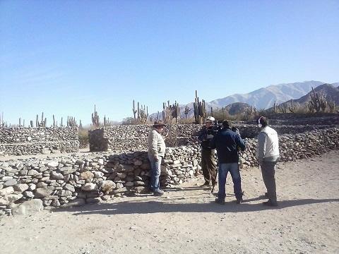 Las Ruinas de Tolombón en la TV nacional