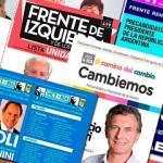Las 15 fórmulas presidenciales que se presentarán en las PASO