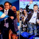 Ganó Scioli pero no evita la segunda vuelta con Macri