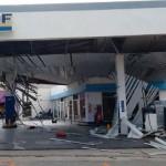 El zonda también azotó Tafí del Valle y generó graves destrozos