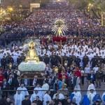 Casi 850 mil personas participaron de la procesión del Milagro en Salta