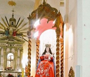 0 Virgen del Rosario, La Sentadita