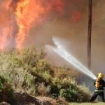 Cerca de 50 hectáreas quemadas por el incendio en El Barrial
