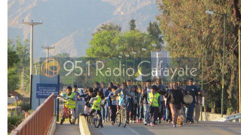 Llegaron los peregrinos de Tolombón