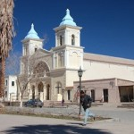 Llegan a Cafayate peregrinos de San Carlos y Tolombón