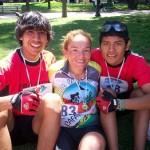 Destacada actuación de atletas cafayateños en el Biatlón de la Cumbre
