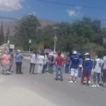 Vecinos de La Banda de Abajo se hartaron y cortaron la Ruta 40