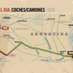 Dakar: se suspendió por lluvia la etapa Rosario-Villa Carlos