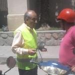 Almeda busca plata con una moratoria para multas de tránsito