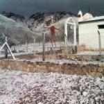 Fuerte nevada en Isonza