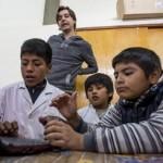 Educación alternativa en la escuela de Yacochuya