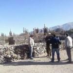 Sebastián Casimiro denunció que están destruyendo las Ruinas de Tolombón