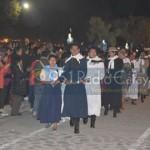 El 9 de Julio fue recibido por 125 parejas que bailaron el Pericón