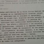 Durísimo comunicado de la UCR de Cafayate contra la usurpación de las 32 hectáreas