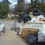 Cafayate es un basural por un paro municipal: no pagaron sueldos ni horas extras