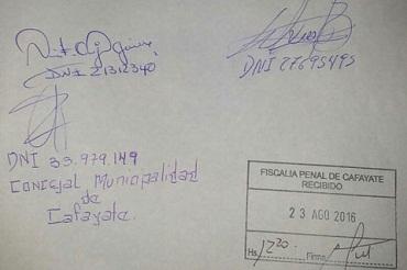 Recusaron a la Fiscal Sandra Rojas y se denuncia tentativa de fraude a la Administración Pública