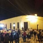 Los peregrinos cafayateños continúan su camino de fe y devoción