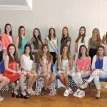 Estas son las candidatas a Reina Nacional de los Estudiantes